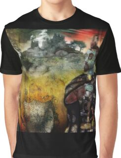 Mystical Adventures (art & poetry) Graphic T-Shirt