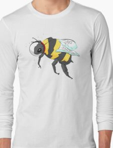 Cosmic Bee in Color Long Sleeve T-Shirt