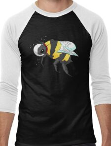 Cosmic Bee in Color Men's Baseball ¾ T-Shirt