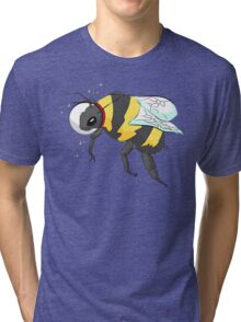 Cosmic Bee in Color Tri-blend T-Shirt