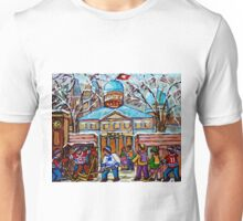 HOCKEY GAME AT MCGILL UNIVERSITY Unisex T-Shirt