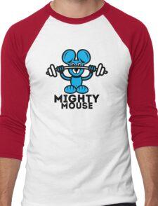 Mighty Mouse Men's Baseball ¾ T-Shirt