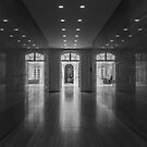 Reflections in the corridor by Roberto Pagani