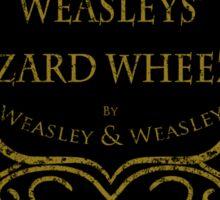 Weasleys' Wizard Wheezes V3 Staff (Distressed Gold) Sticker