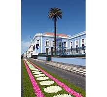 Palace in Azores Photographic Print