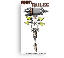 Mob Rules 4th Edition hammer and skull Metal Print