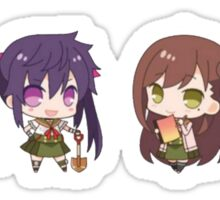 Gakkou Gurashi Chibi Group Sticker