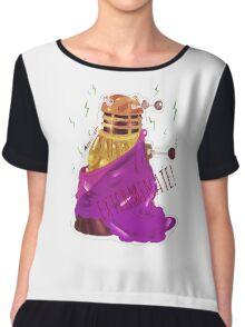 What if Daleks were gods? Chiffon Top