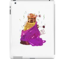 What if Daleks were gods? iPad Case/Skin