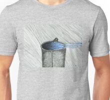 Bird on Thing of Water Unisex T-Shirt