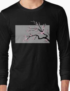 Sakura v2 - Adjusted for darker colors Long Sleeve T-Shirt