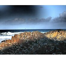 The Giant's Causeway, Northern Ireland~March Shadows Photographic Print