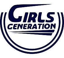 Girls' Generation Party Surfboard Logo Photographic Print