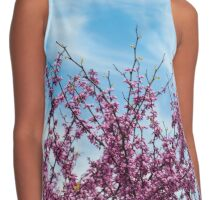 Cherry Blossoms Contrast Tank