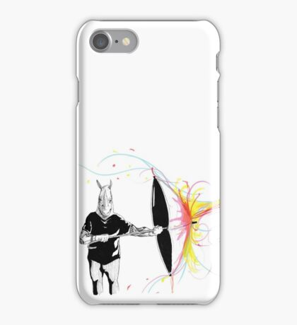 Rhyno Hates Colours iPhone Case/Skin