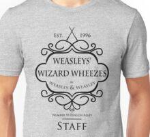 Weasleys' Wizard Wheezes V3 Staff Shirt Unisex T-Shirt