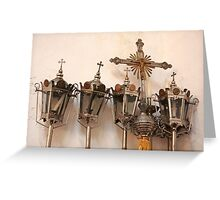 Religious artifacts Greeting Card