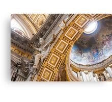 Vatican inside Canvas Print