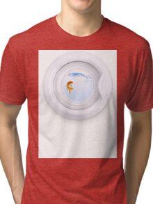 (Very) Clean Goldfish Tri-blend T-Shirt