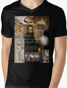 michaelangelo Mens V-Neck T-Shirt