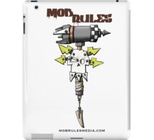 Mob Rules 4th Edition hammer and skull iPad Case/Skin