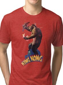 King Kong Retro Tri-blend T-Shirt