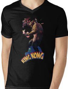 King Kong Retro Mens V-Neck T-Shirt