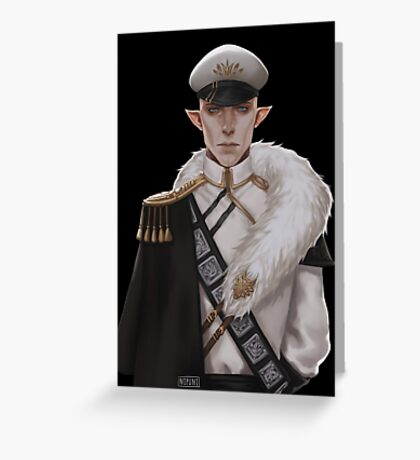 Wolf General Greeting Card