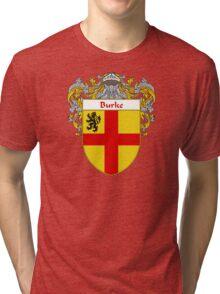 Burke Coat of Arms/Family Crest Tri-blend T-Shirt