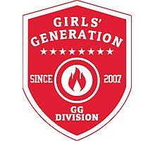 Girls' Generation Fire Logo Photographic Print