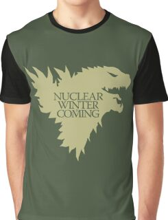 Nuclear Winter is Coming Graphic T-Shirt