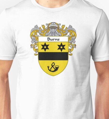 Burns Coat of Arms/Family Crest Unisex T-Shirt