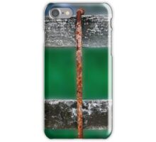 Rusty Straight Wire iPhone Case/Skin