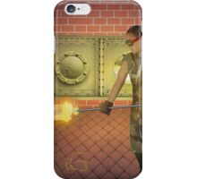 The glass blower  iPhone Case/Skin