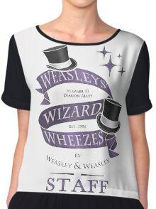 Weasleys' Wizard Wheezes Staff Shirt Chiffon Top
