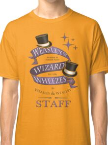 Weasleys' Wizard Wheezes Staff Shirt Classic T-Shirt