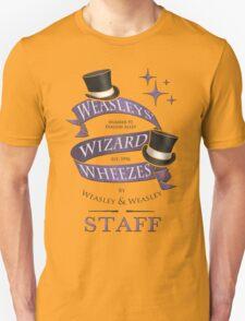 Weasleys' Wizard Wheezes Staff Shirt Unisex T-Shirt