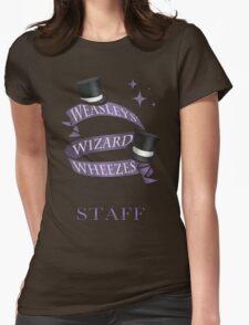 Weasleys' Wizard Wheezes Staff Shirt Womens Fitted T-Shirt