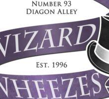 Weasleys' Wizard Wheezes Staff Shirt Sticker