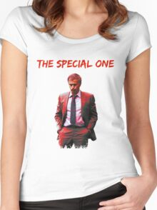 Jose Mourinho The Special one (T-shirt, Phone Case & more) Women's Fitted Scoop T-Shirt