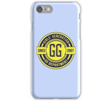 Girls' Generation Disk Logo iPhone Case/Skin