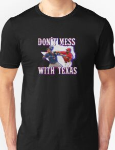 Don't Mess - With Texas Black T-Shirt