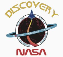 STS-114 Discovery Mission Logo Kids Tee