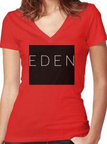 EDEN - MCMXCV Women's Fitted V-Neck T-Shirt