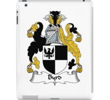 Byrd Coat of Arms / Byrd Family Crest iPad Case/Skin
