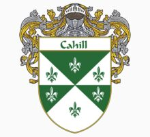 Cahill Coat of Arms/Family Crest by William Martin
