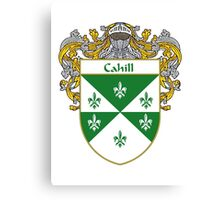 Cahill Coat of Arms/Family Crest Canvas Print