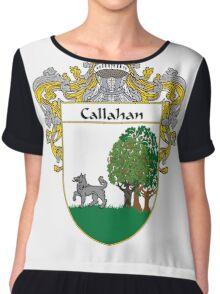 Callahan Coat of Arms/Family Crest Chiffon Top