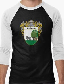 Callahan Coat of Arms/Family Crest Men's Baseball ¾ T-Shirt