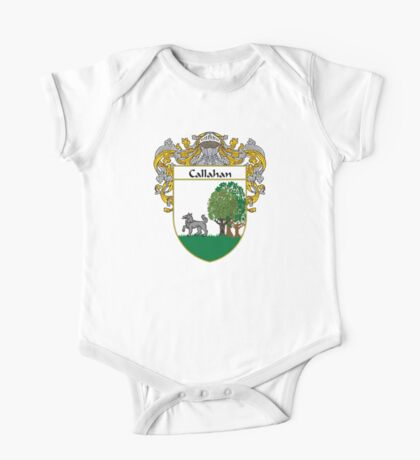 Callahan Coat of Arms/Family Crest One Piece - Short Sleeve
